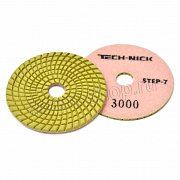 АГШК Ø100мм №3000 TECH-NICK STEP 7 wet/dry